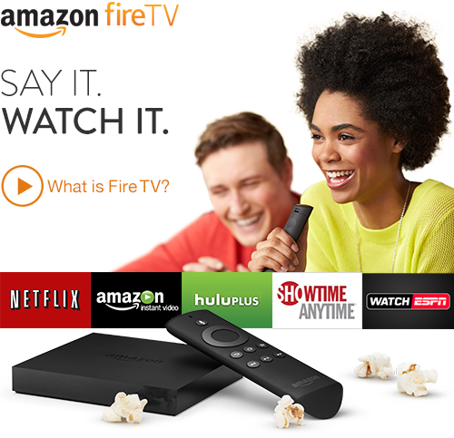 amazon releases fire tv